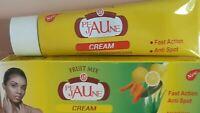 Creme eclaircissante tube  peau jaune  Anti-tâche  aux multi fruits purifiant