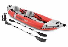 Intex Excursion Pro Canoa Gonfiabile 2 Posti - Rosso