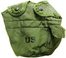 NEW Military Issue 1Qt Canteen Cover Olive Drab Green With Alice Clips