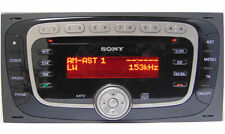 Ford Sony MP3 Radio Code Car V M Codes Serial Key Codes Serial PIN Unlock - 99p