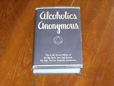 Alcoholics Anonymous Collectors! Near Fine 2nd Edition 15th Printing Original DJ