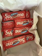 Supreme x Oreo Cookies - 8 Pack (24 Cookies) In Hand, FREE SHIPPING!