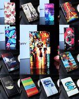 Funda libro carcasa soporte piel sintetica estampado Xiaomi Redmi Note 5A Prime