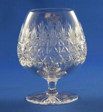 TUDOR CRYSTAL - JEWEL / WELLINGTON DESIGN - X LARGE HEAVY BRANDY GLASS  13.5cm
