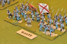 25mm ACW / confederate - regiment 24 figures - inf (40099)