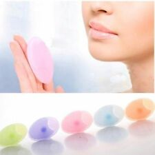 Facial Cleansing Face Washing Blackhead Remover Silicone Gel Pad Brush 2 pcs