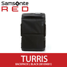 "Samsonite RED 2018 TURRIS Backpack L 15.6"" Laptop Travel Bag EMS 35x52cm / Black"