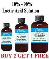 """""""NEVER UNDERSOLD""""  LACTIC ACID SKIN PEELS WITH """"BEST - QUALITY GUARANTEE!"""""""