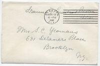 1938 Frances Preston Cleveland presidential Widow free frank Dunedin FL [1297]