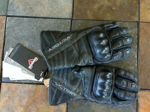 VICTORY MOTORCYCLE  LEATHER GLOVES 286322206 WOMENS LARGE