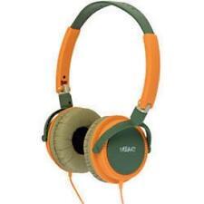 Urbanz Lightweight DJ Style Full Ear Headphones Green