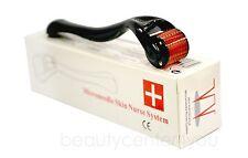 3 PCS Derma Micro Needle Roller Black (0.5-1.0-1.5mm) Derma Wrinkles,Anti Age