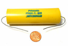 Pyramid USA NOS PTIM20-P1-1020 Paper in Oil Capacitor .1 MF uf 2000V 2KV HV Amp
