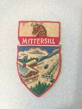 Vintage 1950s/60s Mittersill NH ski patch Cannon Franconia