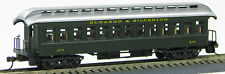 HO 1880-1920's Old Time Pass Coach, Durango & Silverton (01) #312 (1-000229)