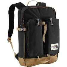 The North Face Kids Mini Crevasse Backpack TNF Black Moab Khaki One Size