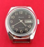 Raketa Russian wrist watch vintage Soviet USSR mechanical Serviced Working