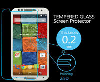 Best Quality Slim Tempered Glass Screen Protector for Motorola Moto X2 (2nd Gen)