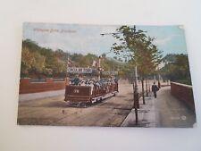 Vintage Colour Tinted Postcard WHITEGATE DRIVE, BLACKPOOL Circa 1917   §A819