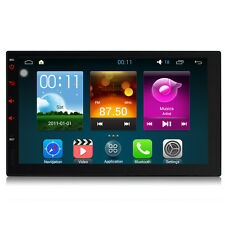 """DAB+ 7"""" Android 5.1 GPS Double 2 Din Sat Nav Mirror Link HD 3G WiFi RDS Radio"""