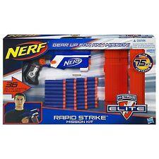 Brand New NERF N-Strike RAPID STRIKE MISSION KIT Dart BLASTER