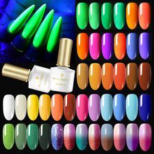 BORN PRETTY 6ml Fluorescence UV Gel Nail Polish Soak-off Color Changing UV LED