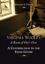 Virginia Woolf's a Room of One's Own: A Contribution to the Essay Genre (Paperba