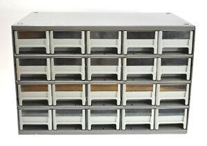 AKRO-MILS 20-Drawer Steel Parts Craft Storage Cabinet Hardware Organizer * USA