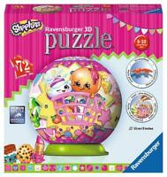 Ravensburger 12176 Shopkins 3D Puzzle 72 Piece Jigsaw Puzzle 6-10 Years - New