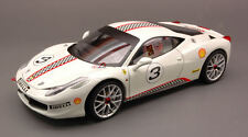 Ferrari 458 Italia Challenge White Elite Edition 1:18 Model X5487 HOT WHEELS