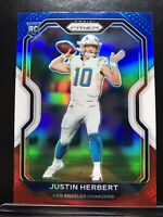 JUSTIN HERBERT 2020 PANINI PRIZM RED WHITE & BLUE PRIZM RC 325 CHARGERS PSA 10 ?