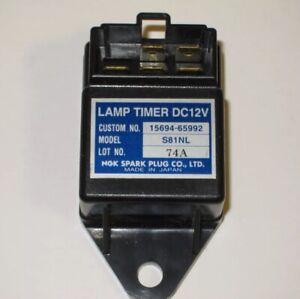 LAMP TIMER DC12V Time Relay Kubota 15694-65992 S81NL Timer Glow Lamp