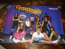 USA, 1989 Large Reebok Poster, as good as new!