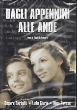 Dvd Video **DAGLI APPENNINI ALLE ANDE** nuovo sigillato 1943