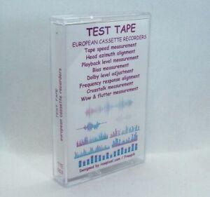 TEST TAPE calibration, azimuth, velocity