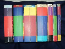 Harry Potter Complete Set Of 7 Hardback Bloomsbury well read with ink messages