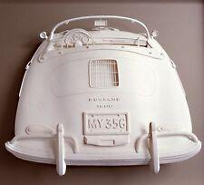 PORSCHE 356 SPEEDSTER VINTAGE CAR POSTER PRINT 20x25, embossed with signature