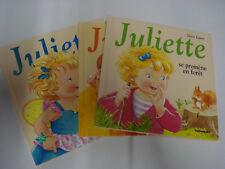 """LOT de 20 livres """"JULIETTE """" Editions LITO Doris Lauer"""