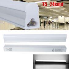 2 SAVE ENERGY LAMP T5 5W LED TUBE LIGHT FLUORESCENT 1ft 30cm INTEGRATED DAYLIGHT