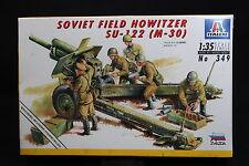 XU030 ITALERI 1/35 maquette figurine mili 349 Soviet Fiel Howitzer SU-122 M-30