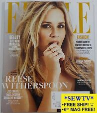 NEW ELLE magazine FEBRUARY 2017 - REESE WITHERSPOON, WOMEN IN TV,GAME OF THRONES