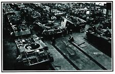 Munitions factory making tanks for Russia, 1941 - Nostalgia post card