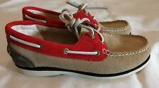 Timberland Tierra Keepers Gamuza Cuero Con Cordones Cubierta Zapato Mocasín UK 3. 5 EU 36