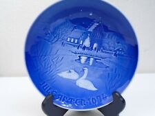 1974 Bing and Grondahl B & G Christmas Plate Christmas in the Village Mint