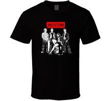 Halestorm Rock Band Logo retno shirt black white tshirt men's free shipping