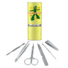 Yoga Gumby That's a Stretch Manicure Pedicure Grooming Beauty Care Travel Kit