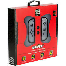 Surge Grip Kit Joy-Con Grips  Thumb Grips for Nintendo Switch, Gray NEW