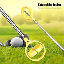 8 Sections Telescopic Golf Ball Retriever Picker Pick Up Stainless Steel Sh EW