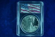 1991 One Dollar Silver Eagle WTC Ground Zero Recovery Coin