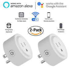 WiFi Smart Plug Outlet Socket Remote Control Timer Mini Switch Alexa Google Home